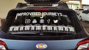 Improvised Journeys Car Logo